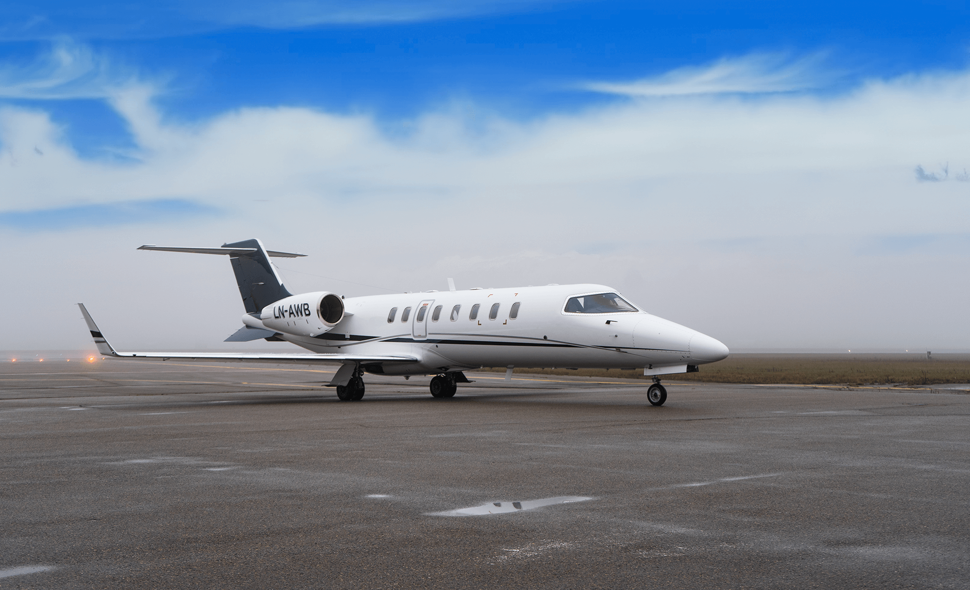 Learjet Airwing privatfly