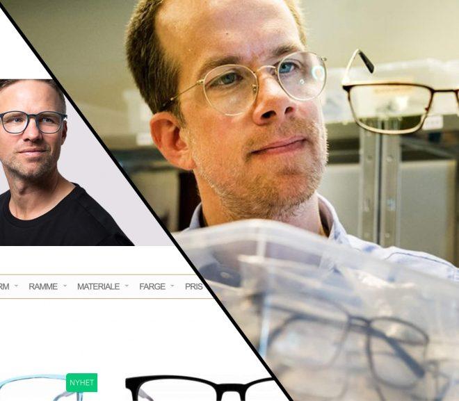 Online optiker fra Trondheim lar deg prøve briller digitalt